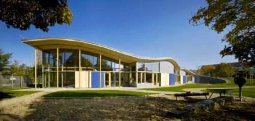 Exterior View Of The New Kindergarten In Heidenau City Park Photograph Reiter Rentzsch Architects
