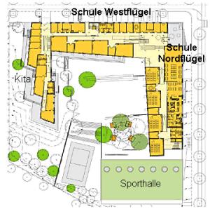 Riedberg Passive House School, Frankfurt, Germany [ ]